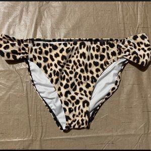 VS PINK Leopard Swim Bottoms